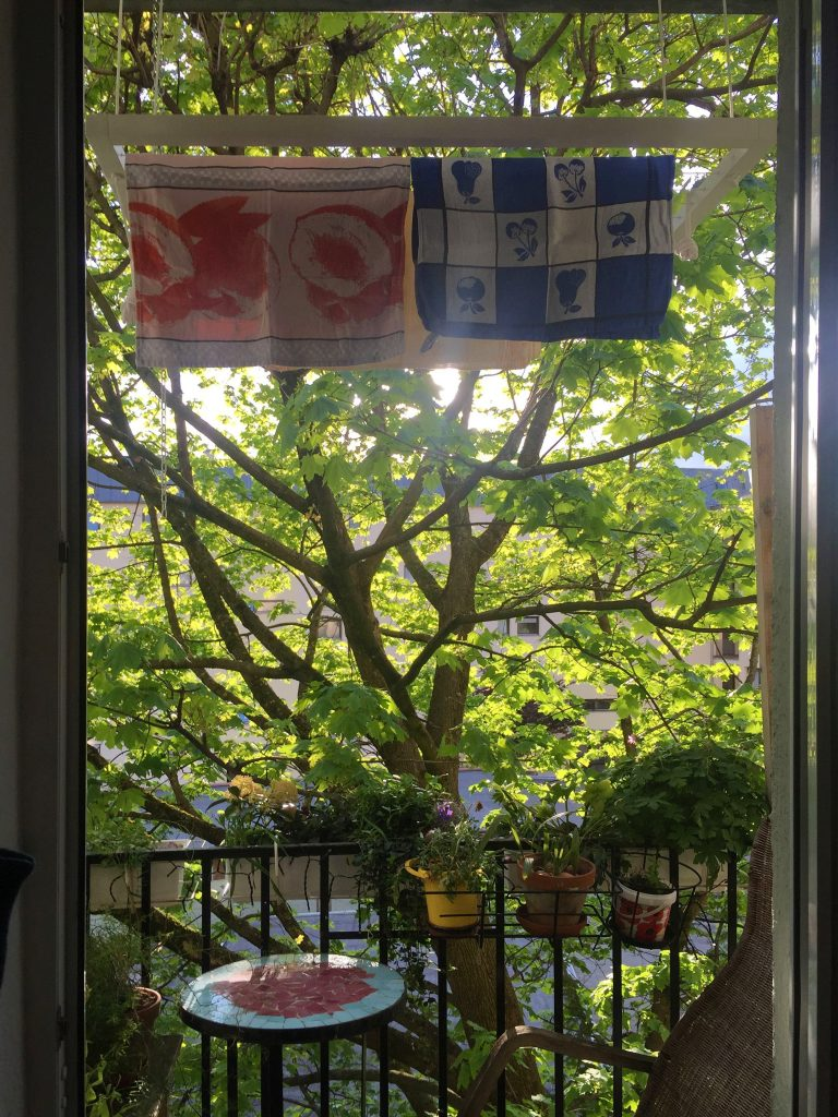 Kundenbild Nr. 60: Hangbird auf dem Balkon